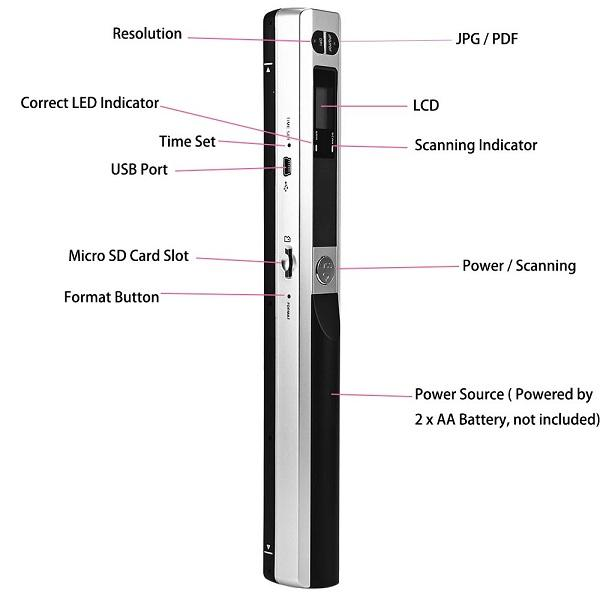 IScan Portable Scanner