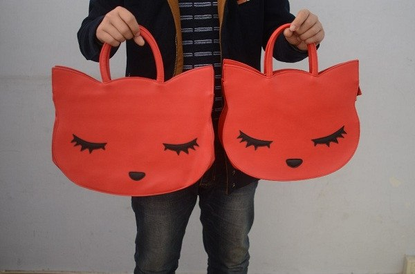 Leather Cat Head Bags