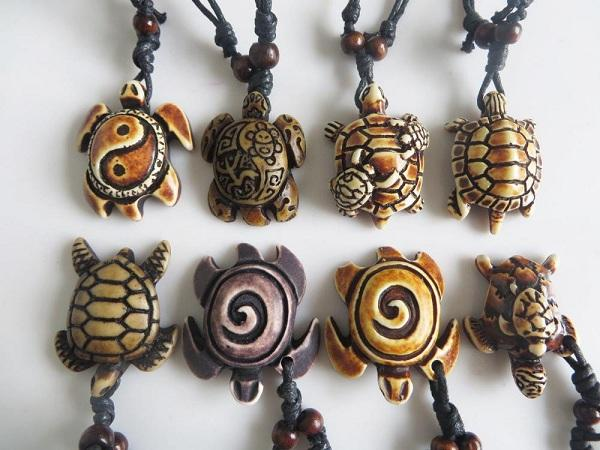Limited Edition - Adjustable Sea Turtle Necklace - 8 Pc Set