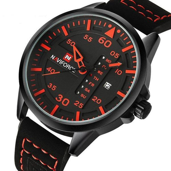 Luxury Naviforce Men's Aero Watch