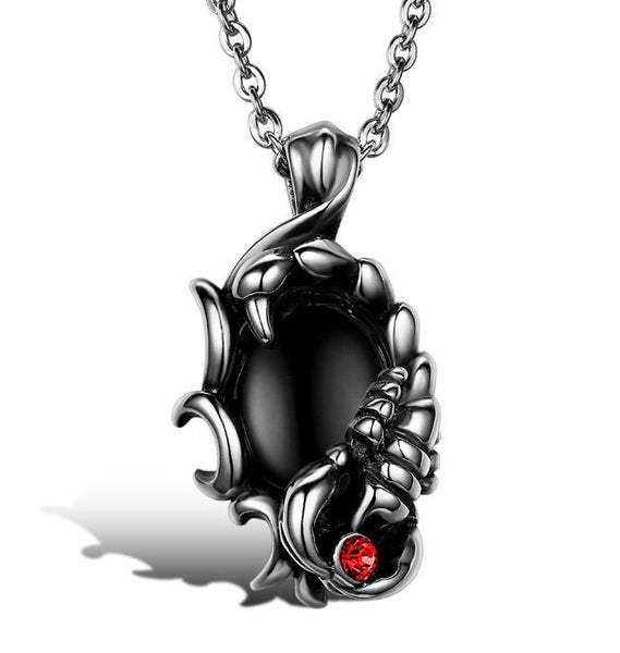 Men's Gothic Scorpion Necklace