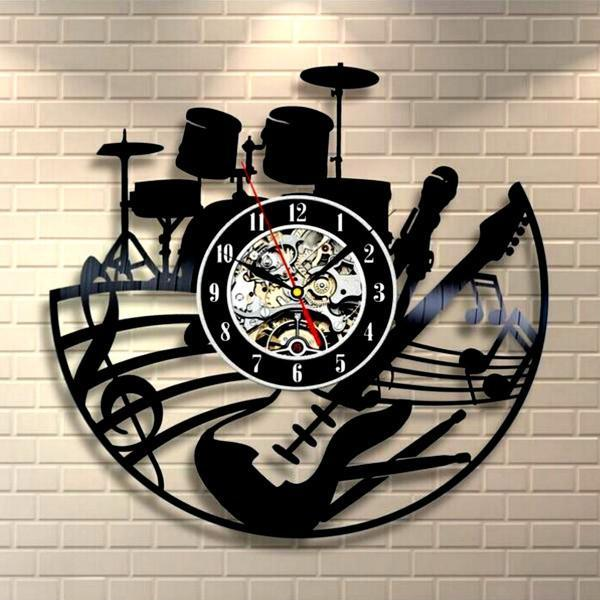 Music Band Wall Clock