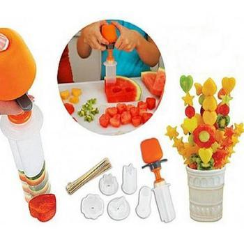 Push & Pop Fruit Shape Cutter