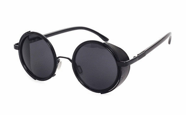 Retro Sunglasses With Side Cover