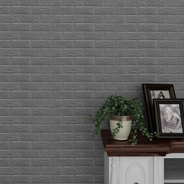 Self Adhesive 3d Brick Wallpaper