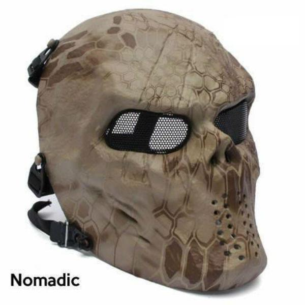 Skullies & Beanies - Camo Ghost Mask
