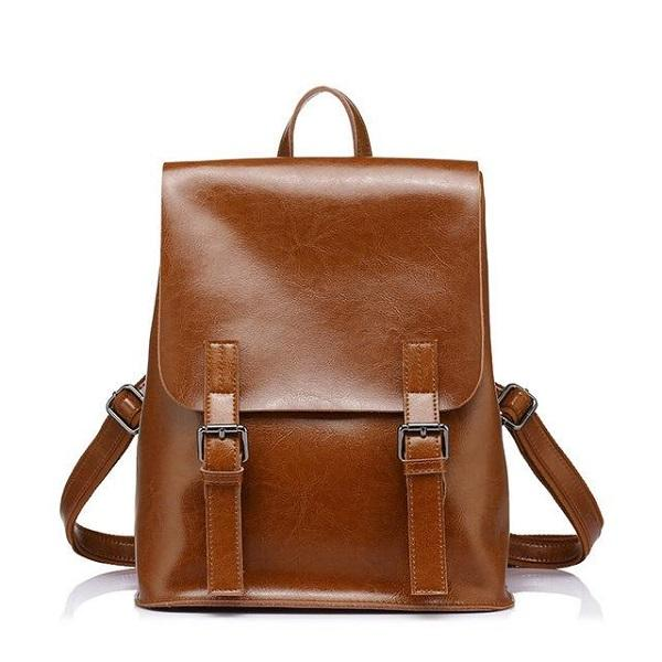 The Reaction Backpack In Cognac