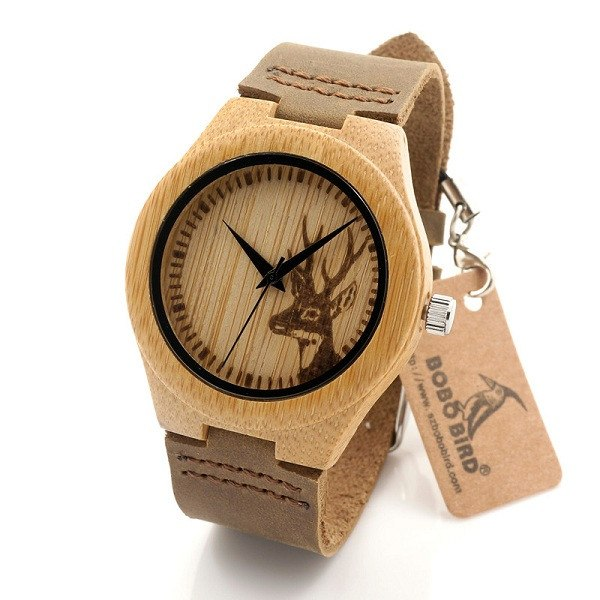 Unique Bamboo Watch