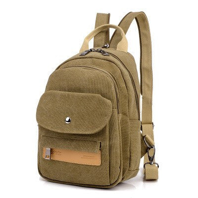 Vintage Canvas Women's Backpack