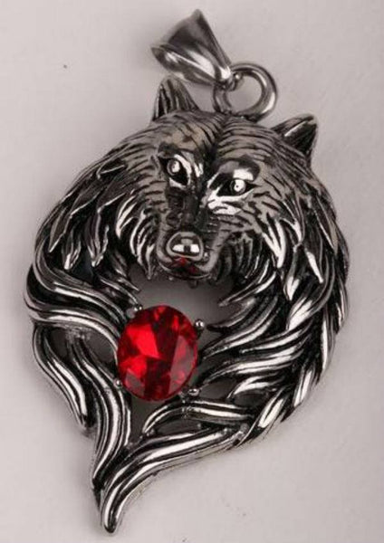 Wolf Pendant Necklace