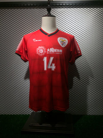 e27c8b232ff AFC CUP 2018 Benfica Macau 澳門賓菲加Official Home Jersey by ONEtwo