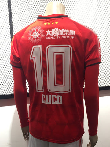 92415ad55d6 2018 Benfica Macau 澳門賓菲加 Official Elite League Home Jersey by ONEtwo