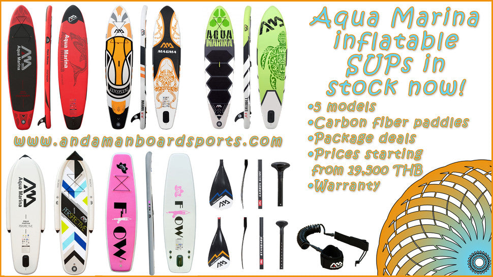 inflatable stand up paddle boards phuket, thailand