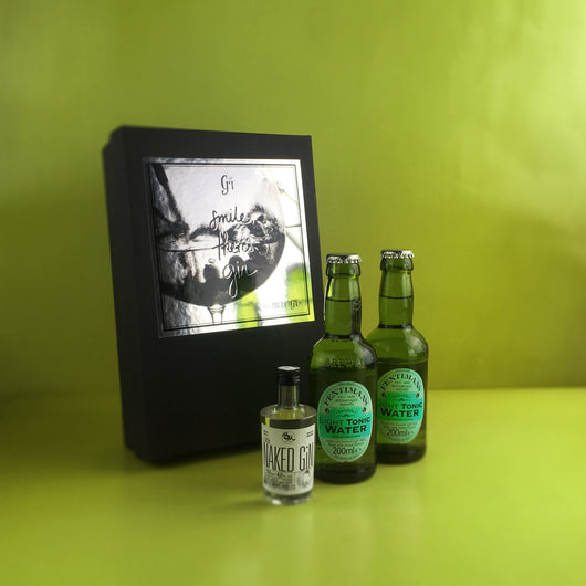 Naked Gin - MINI TASTING SET - Project G&T - Gin Tonic Geschenksets - Gin Sets