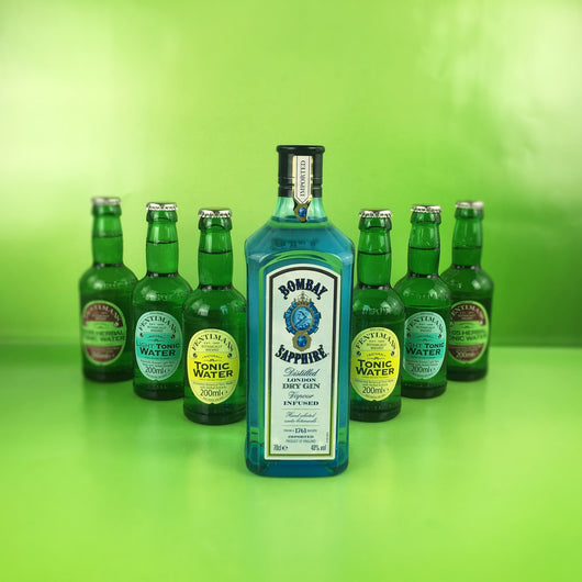 Bombay Sapphire Gin Tasting Box - Project G&T - Gin Tonic Geschenksets - Gin Sets