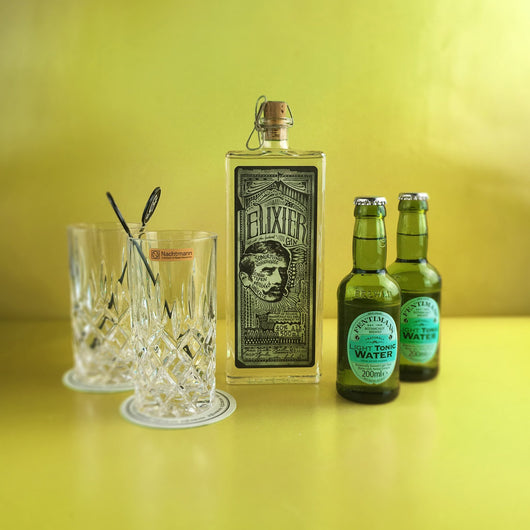 Elixier Gin & Indi & Co Tonic Geschenkset - Project G&T - Gin Tonic Geschenksets - Gin Sets