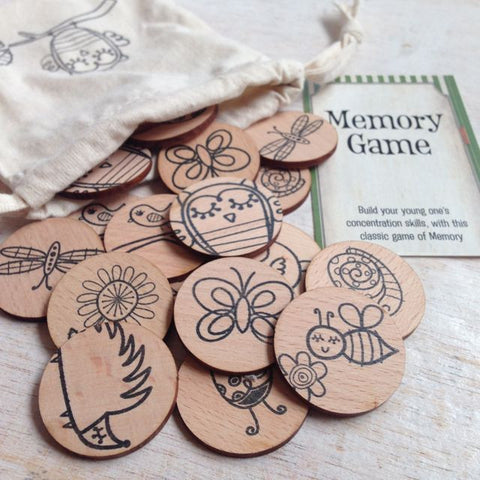 Woodland Friends Memory Game by Games to Go