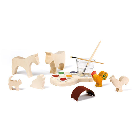 Ostheimer Paint Your Own Animals Creative Set
