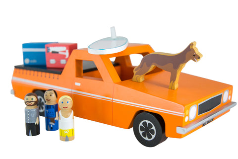 Wooden Ute Play Set by Make Me Iconic