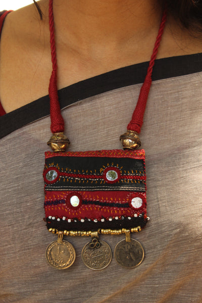 Fusion necklace with dori work. CC-FUS2-C7