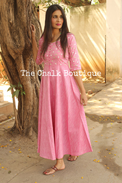 AAHIR.GC-D-263 (Pink)-The Chalk Boutique