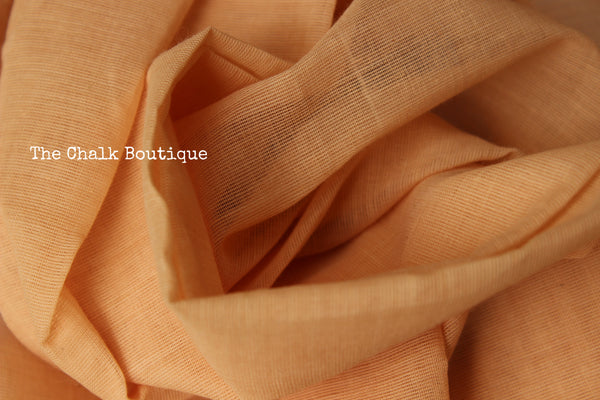 Beige 'Handloom mark' handwoven begumpuri saree with booti body. TCB-BB1-BG1-The Chalk Boutique