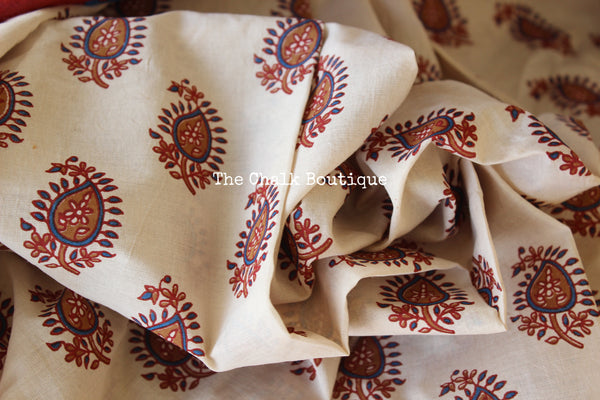 Pure tussar silk saree in natural beige. TCB-TUS1-C4