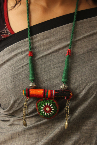 Adjustable Lambani Dori necklace. CC-LB4-C8