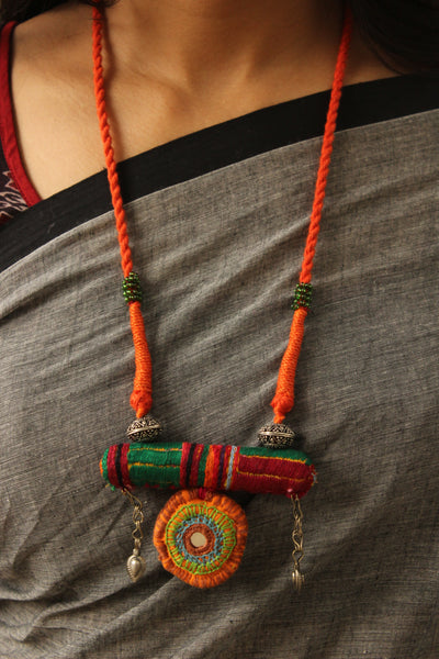 Adjustable Lambani Dori necklace. CC-LB3-C8