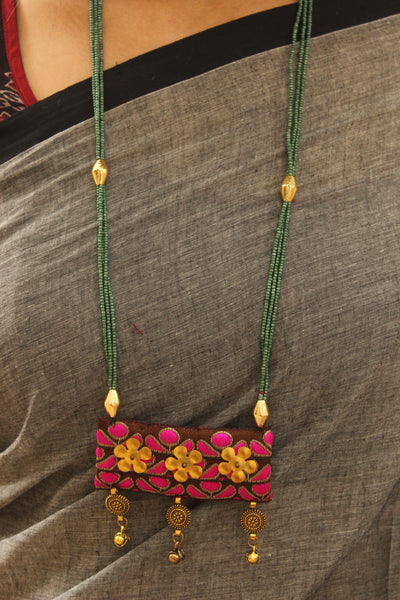 Handmade Zari necklace. CC-ZR3-C8