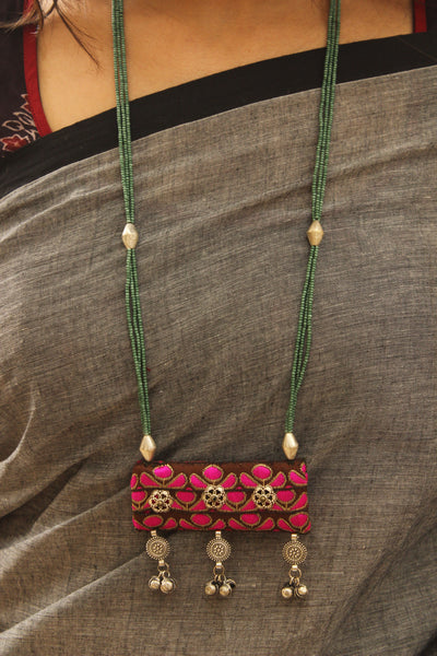 Handmade Zari necklace. CC-ZR2-C8