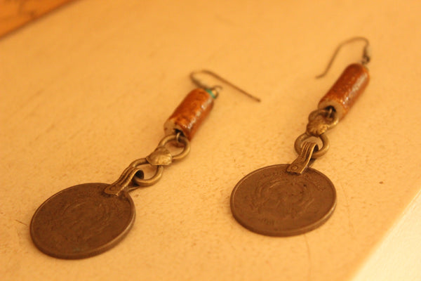 Sikka Ceramic Earrings. B-EA-059-a