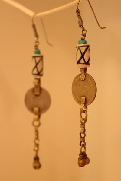 Sikka Ceramic Earrings. B-EA-058-a