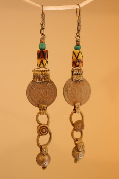 Sikka Ceramic Earrings. B-EA-046
