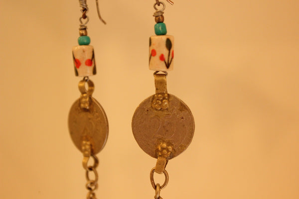 Sikka Ceramic Earrings. B-EA-058