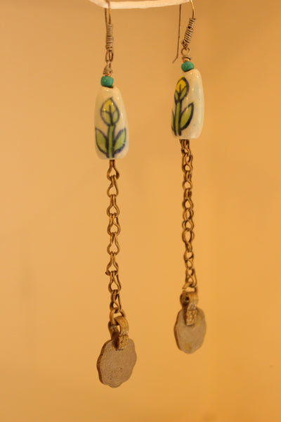 Sikka Ceramic Earrings. B-EA-062