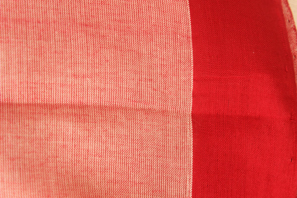 Bhalla Trishulam Handwoven Khadi Cotton Saree . Code- CH-TH-3
