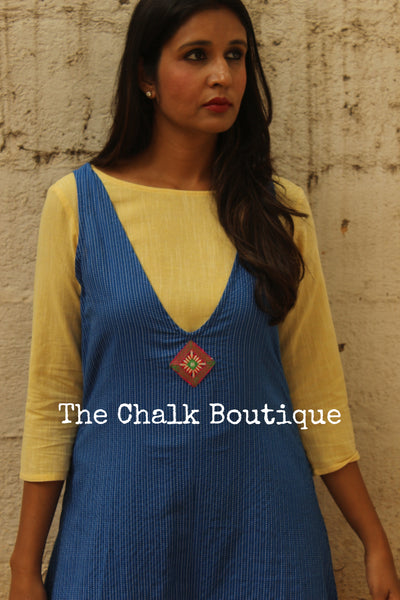Desert Bluebells Jumpsuit GC-JP-13-The Chalk Boutique