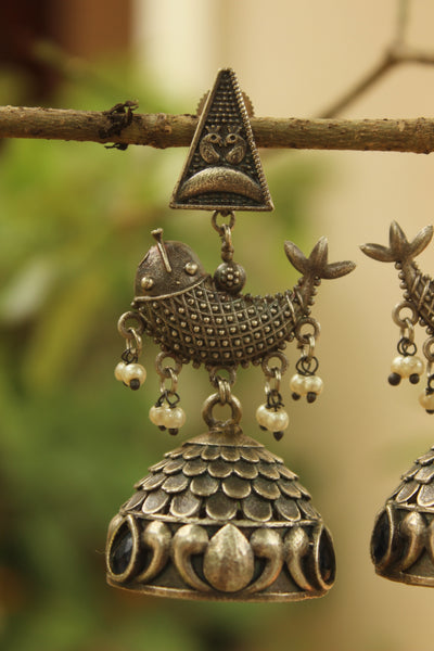 Matsya Trikon Earrings