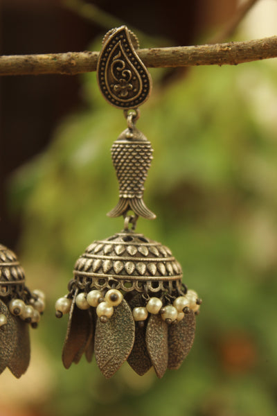 Matsya Mango Earrings