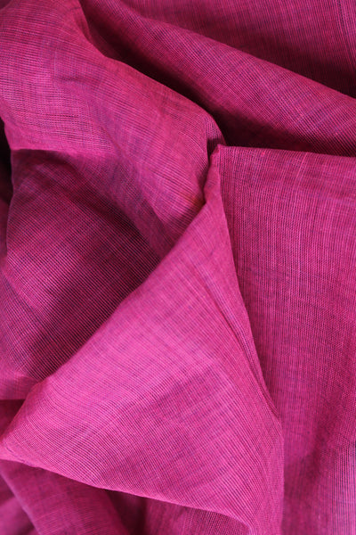Jamuni 'handloom mark' handwoven begumpuri saree with ganga jamuna border. TCB-PB6-BG-The Chalk Boutique
