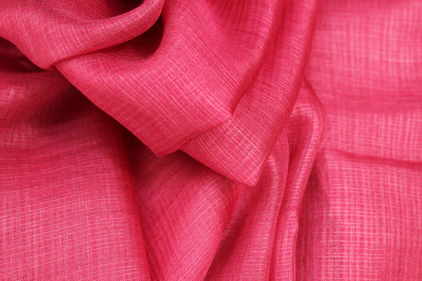 | In the mountains | Petal pink Handwoven natural mulberry silk saree. TCB-MS9-BS