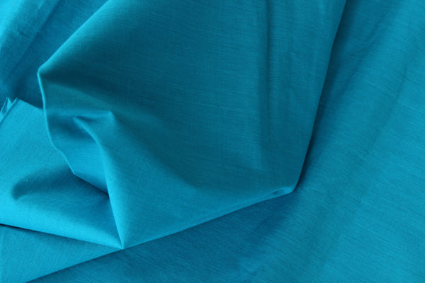 Blue mangalgiri cotton fabric . TCB-MAN1-P4