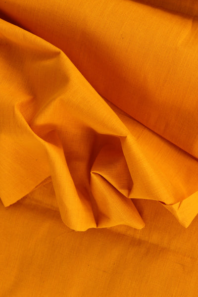 Mustard mangalgiri cotton fabric . TCB-MAN3-P4