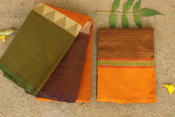 Chettinad cotton saree. Code- RK-CH3-C29