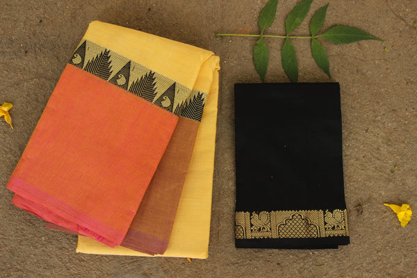 Chettinad cotton saree. Code- RK-CH4-C29