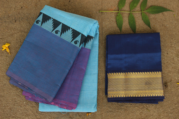 Chettinad cotton saree. Code- RK-CH5-C29