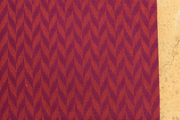 Purple Overall buti Cotton jacquard Fabric.