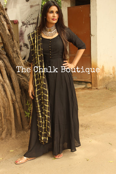 GAMYA. GC-D-276 ( Black )-The Chalk Boutique