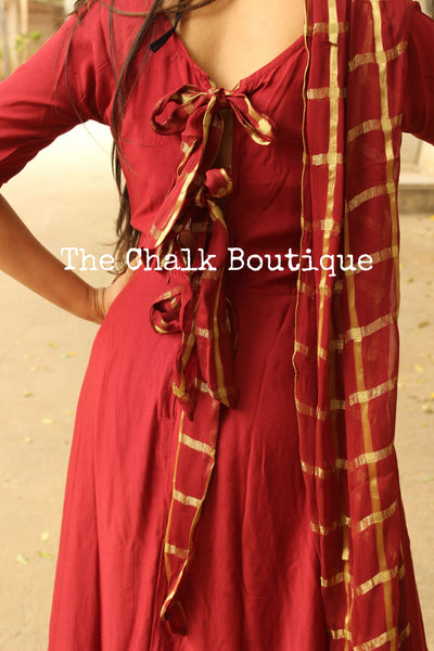| DATRI | - GC-D-273 ( Rust )-The Chalk Boutique